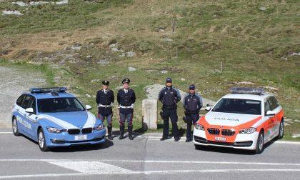 Motoraduno dello Stelvio, campagna di sicurezza della Polizia