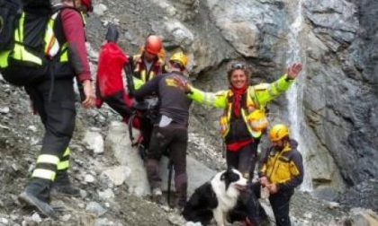 Soccorso alpino salva una donna