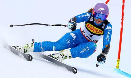 Coppa del mondo di sci, domani e domenica in gara Elena Curtoni
