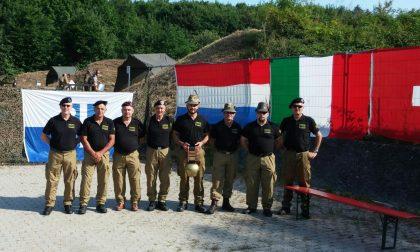 La Sezione Artiglieri Valtellina in gara in Germania