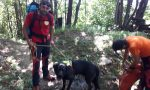 Cane salvato dal Soccorso Alpino