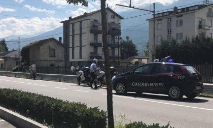 Incidente in via Stelvio ferito 86enne