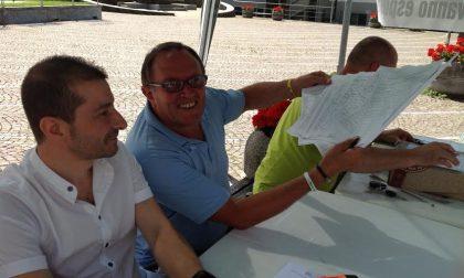 Villa di Tirano, centinaia di firme per dire no ai migranti