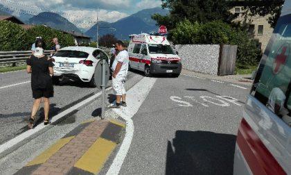 Incidente a Cosio Valtellino, sette persone coinvolte