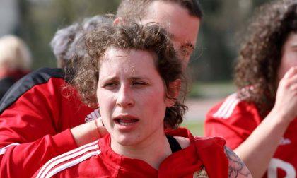Lucrezia Manzolini capitano della Nazionale di rugby universitaria