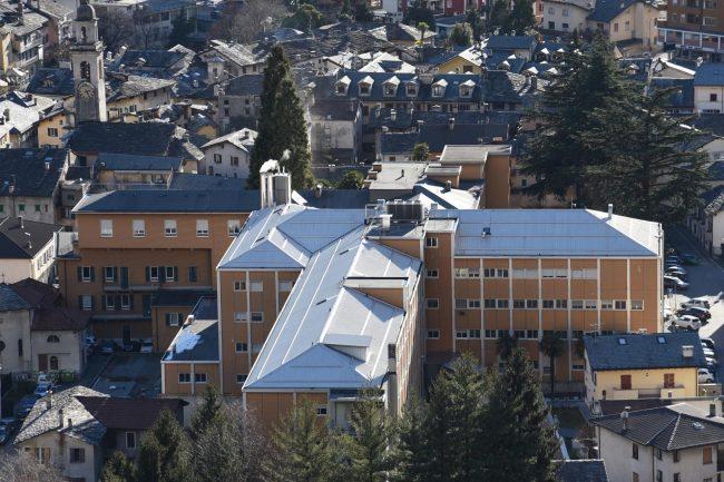 Ospedale di Chiavenna: ecco come lo stanno &#8220&#x3B;smontando&#8221&#x3B;
