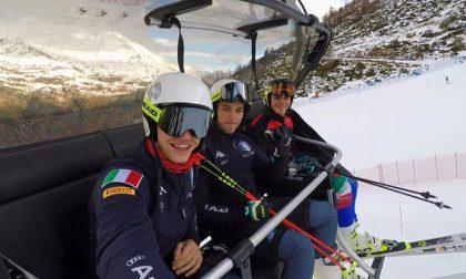 Sci alpino: i futuri campioni allo Stelvio
