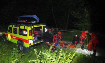 Giovane scout ferita salvata nella notte