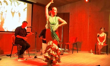 Successo della serata di flamenco a Gerola