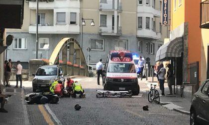 Schianto, grave uno scooterista di 39 anni