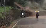Strade allagate per il maltempo in Valmalenco – Il VIDEO