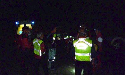 Salvati i tre alpinisti sorpresi dal maltempo in Valmasino