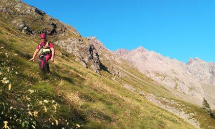 Mobilitazione per un disperso in montagna