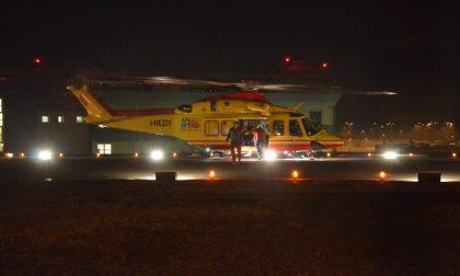 Quattro escursionisti recuperati dall'elicottero nella notte