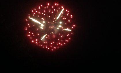 Bormio vieta i fuochi d'artificio