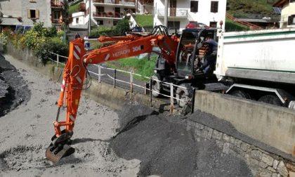 Valdidentro, lavori urgenti sul Rio Scianno