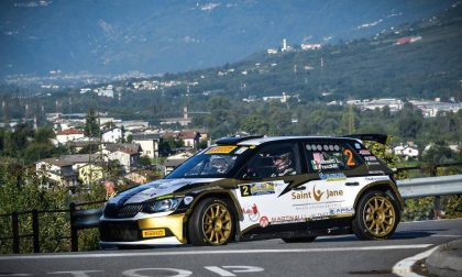 Rossetti nuovo leader del Rally Coppa Valtellina 2017