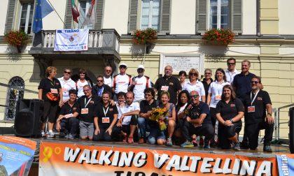 Walking Valtellina da record a Tirano