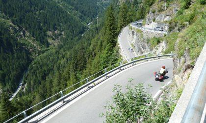 Statale 36 a Campodolcino: disagi al traffico per lavori