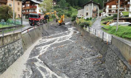 Valdidentro, aggiornamento sulla situazione del Rio Scianno