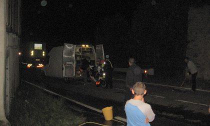 Schianto moto-furgone, un morto a Grosio