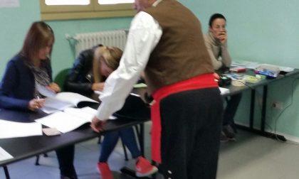 In Valtellina hanno votato anche in costume - LE FOTO