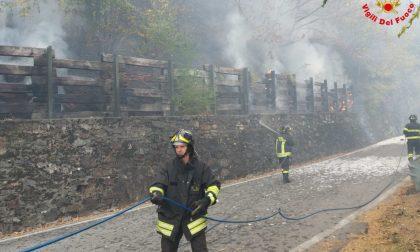 Incendi, +100% boschi bruciati
