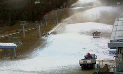 Bormio Ski ha cominciato a sparare neve