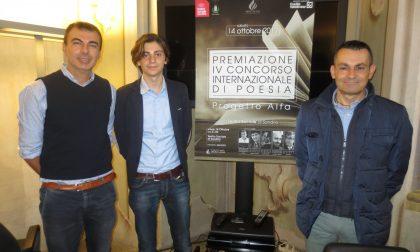 Tre valtellinesi tra i vincitori del IV concorso internazionale di Poesia Progetto Alfa