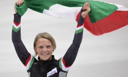 Arianna Fontana vince la Medaglia d'Oro nei 1000metri