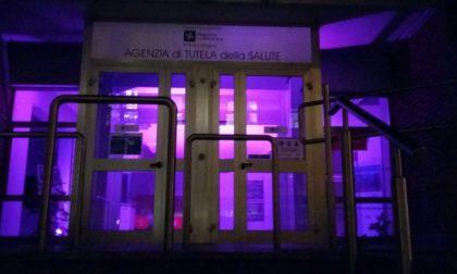 Mese in Rosa, anche la sede dell'Ats è rosa