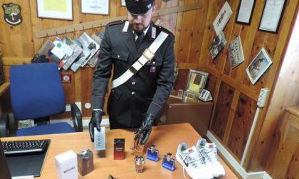 Carabinieri scoprono tre ladri