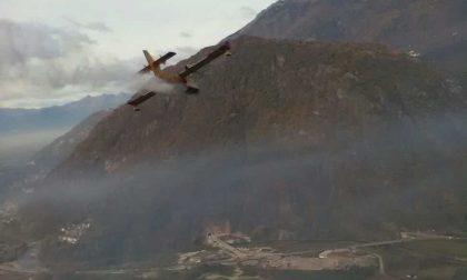 Incendio in Valtellina, l'emergenza continua – FOTO