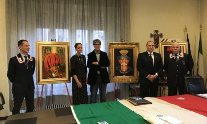 Il pittore dei Carabinieri espone in Comune