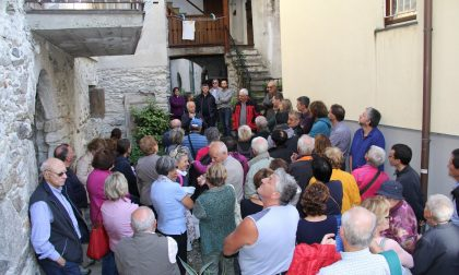Col Centro Studi Storici in 100 alla scoperta di Villa di Chiavenna