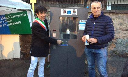 Inaugurato nuovo fontanello di Secam a Ponte in Valtellina