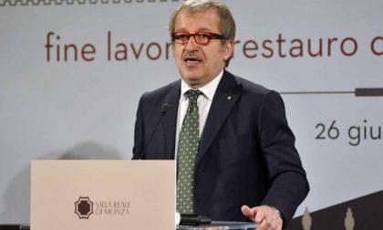 Il presidente Maroni a Bellano per l'autonomia della Lombardia
