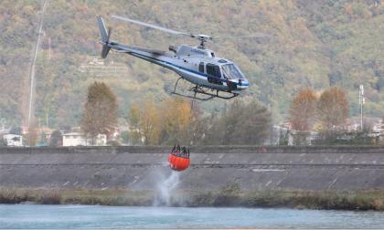 Incendio in Valtellina, 500 persone isolate
