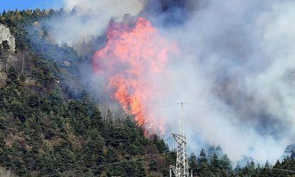 Incendi, +100% i boschi bruciati