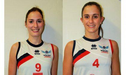 Chiara e Margherita lasciano la pallavolo: ieri e oggi sempre insieme