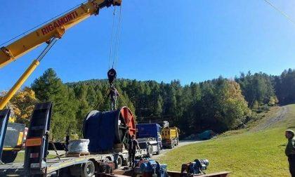 Aprica, lavori sull'impianto della Magnolta
