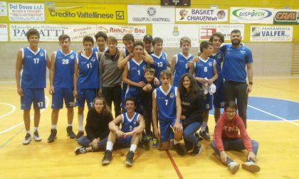 Basket Chiavenna a tutta nel campionato Under 16
