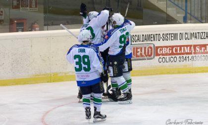 Terza vittoria in quattro partite per l'hockey Chiavenna