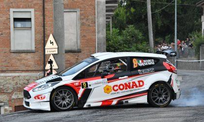 Marco Gianesini al Rally Monza