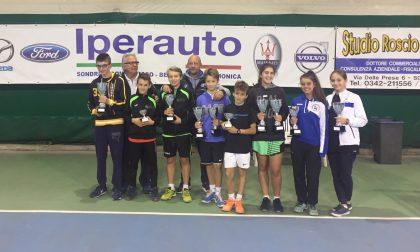 Campionati provinciali tennis, i vincitori – FOTO