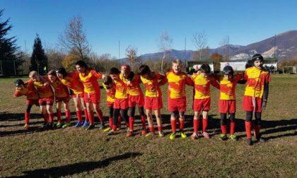 Bella giornata di sport a Ello per il Rugby Delebio