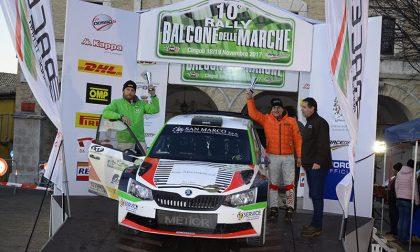 Marco Gianesini nella top ten del decimo Rally Balcone delle Marche
