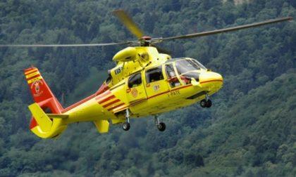 Grida d'aiuto a 1900 metri, salvato scialpinista