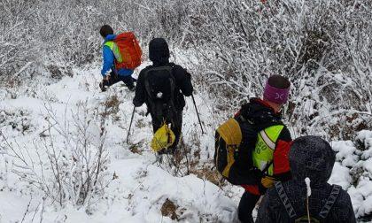 Maltempo: escursionisti bloccati a 2500 metri