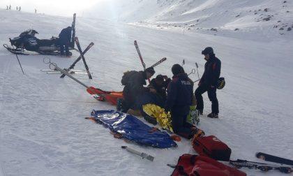 Soccorsi sugli sci, ferita una bimba di 7 anni